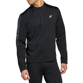asics Icon LS 1/2 Winter Zip Top Men, performance black/carrier grey